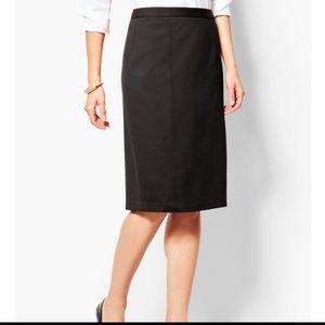 Vintage Black Italian Pencil skirt